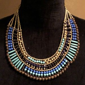 Stand out with this beaded beautiful necklace